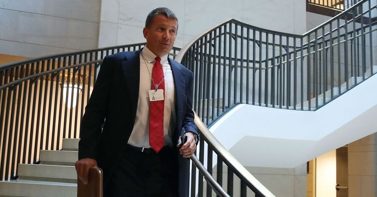 Why did Erik Prince meet with a Russian fund manager shortly before Trump's inauguration?