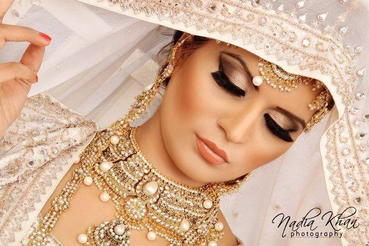 Bridal Makeup Photography : Makeup by Nadia Khan Makeup Artist and Photographer- Indian ...