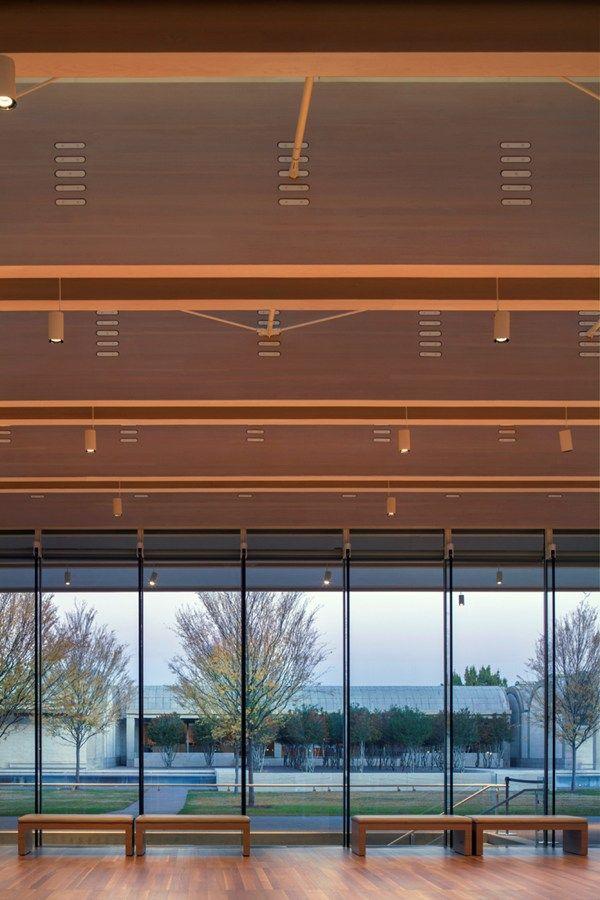 Kimbell Art Museum... Renzo Piano....