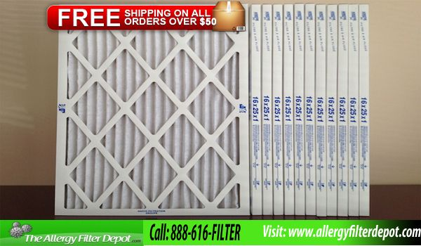 Get best money saving on furnace filters with free shipping on all orders over $50. We  have all the variety of furnace filter sizes.