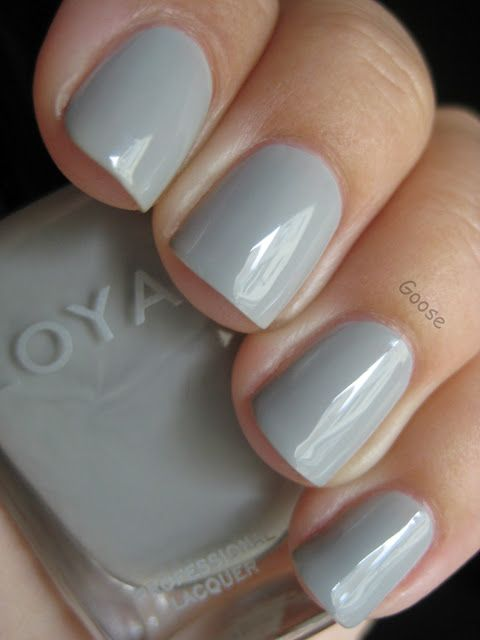 Zoya - Dove. Possible bridesmaid nail colour.