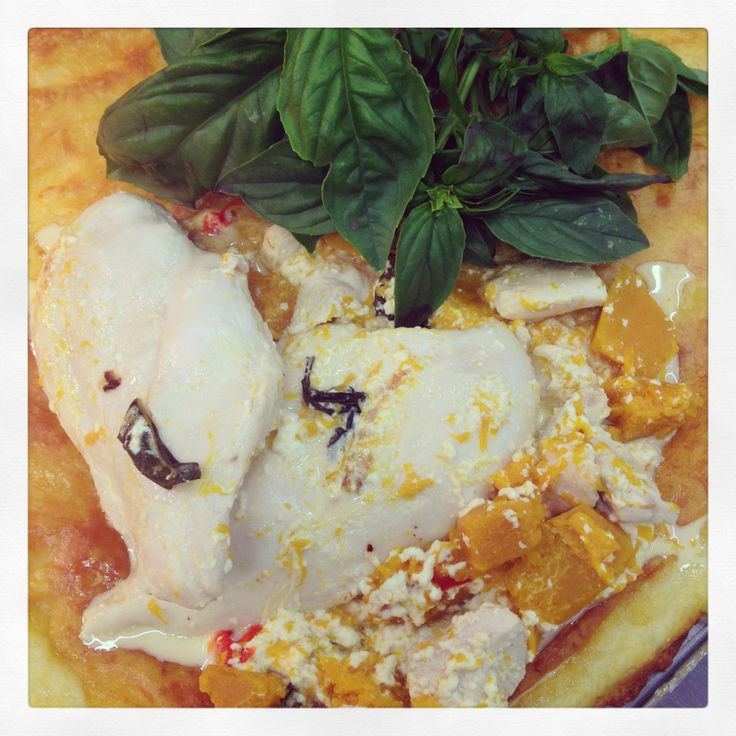 Pumpkin, Chilli & Chicken Bake with Creamy Parmesan Potato Mash - Bunbury Farmers Market