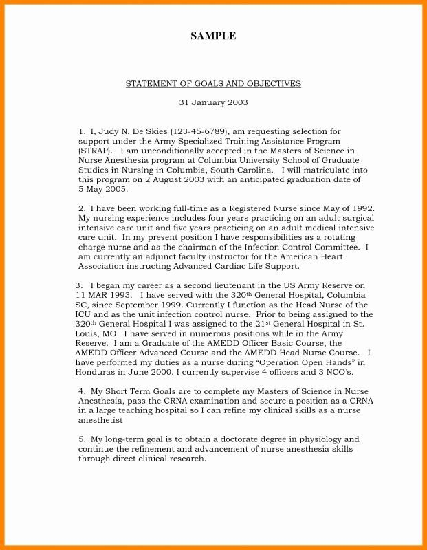 Personal Goal Statement Format New Sample For College 6 Point Career Mission Essay Examples Short Term And Long