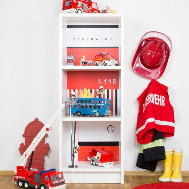 Fresh Wir zeigen euch wie ihr ohne gro en Aufwand eine Feuerwehr basteln k nnt Perfekt f r s Kinderzimmer MIt Rutschstange und Flammen sieht s noch besser aus