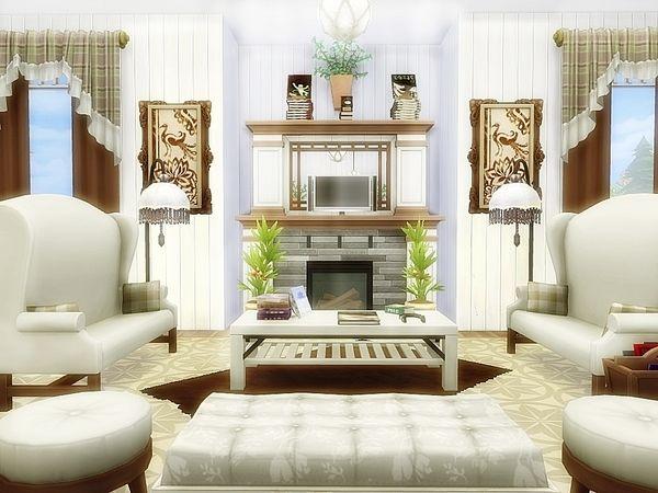 Moniamay72 S Seaclusion Coastal Mansion Sims 4 House Design Sims House Sims 4 House Plans