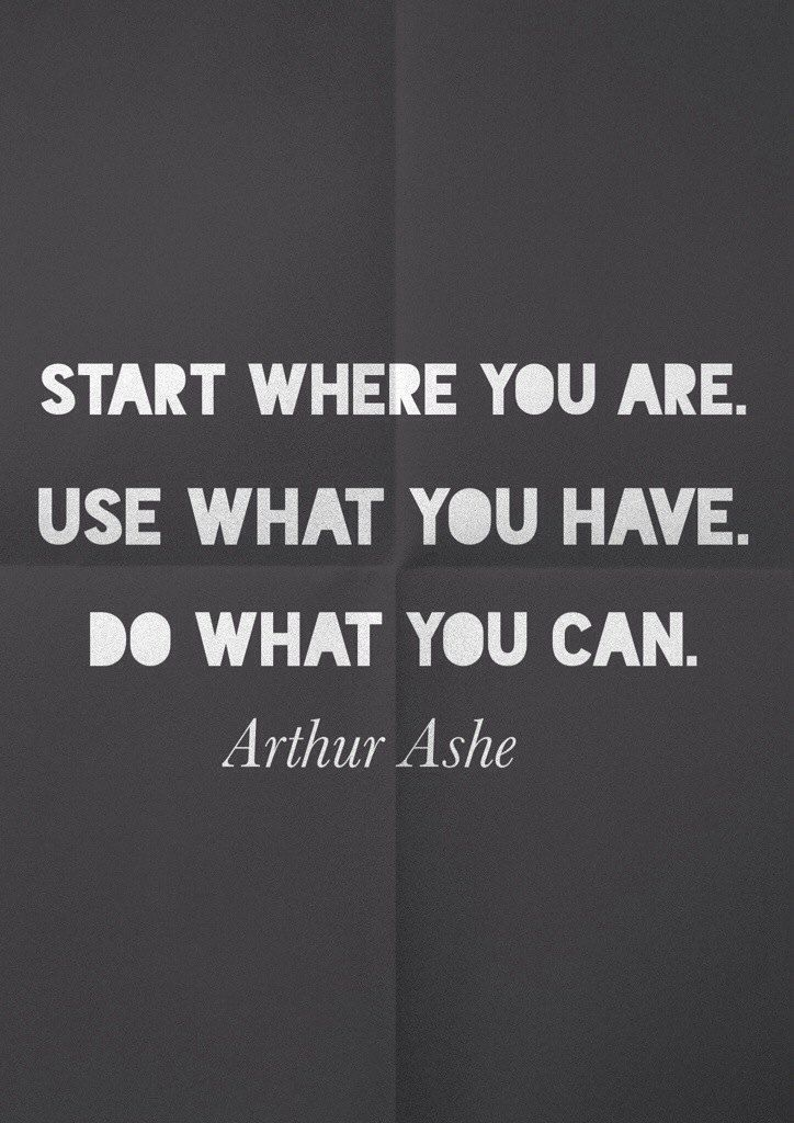 Arthur Ashe quote about life and perseverance | positive quotes | positive quotes for life | positive quotes for women | quotes to live by | inspirational quotes | motivational quotes |