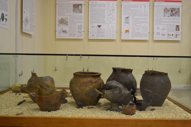 Tomba del guerriero umbro del VI sec. a.C., l'arredo