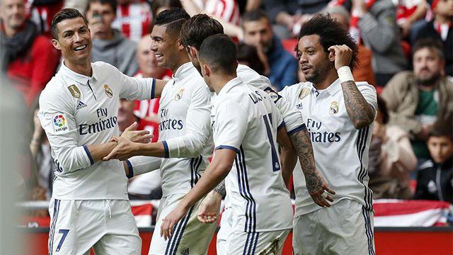 Ver los goles del Athletic - Real Madrid (1-2) | Vídeo http://www.sport.es/es/noticias/laliga/vea-los-goles-del-athletic-real-madrid-5908535?utm_source=rss-noticias&utm_medium=feed&utm_campaign=laliga