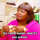 I'm a hunter