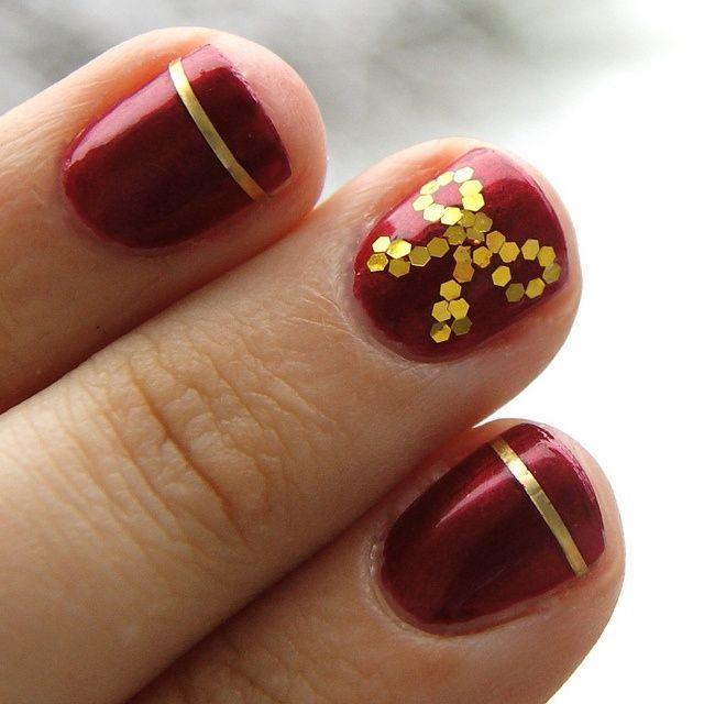 Más de 50 nuevas uñas decoradas de Navidad   Decoración de Uñas - Manicura y NailArt
