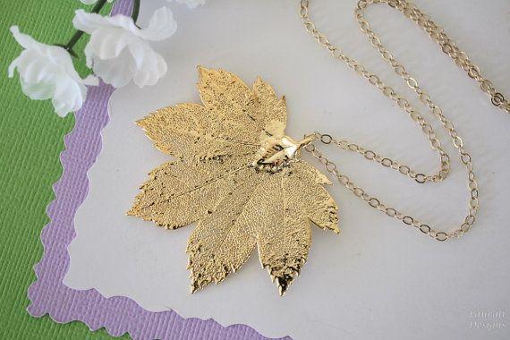 Real Full Moon Maple Leaf Real Gold Leaf Maple Leaf