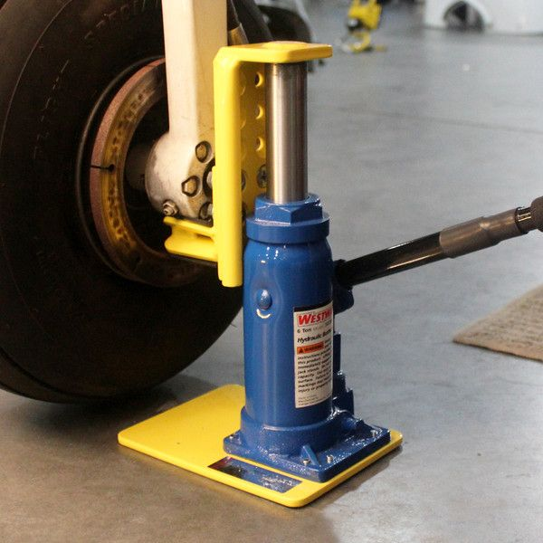 Be more productive with the Bogert Aviation Tribal Jack. It's easily 10X faster than wing jacks. Originally designed for the Piper Tribe of aircraft, Bogert's Tribal Jack has proven itself to be a gre
