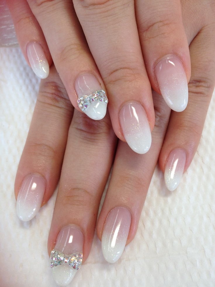 Jel Nail Art! Gradation Nail White
