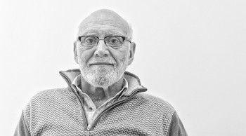 Rodolfo del Valle, un geologo que hace 42 años que estudia en la Antártida.