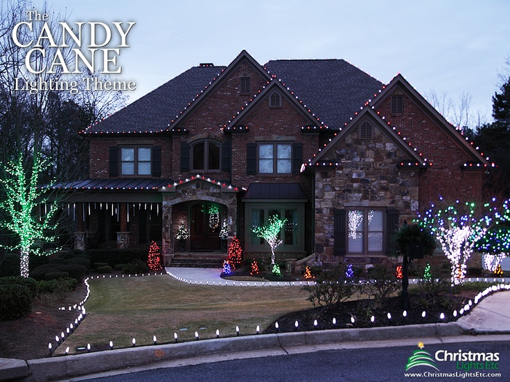 37 best christmas lights theme candy cane images on pinterest outdoor christmas lights ideas for the roof workwithnaturefo