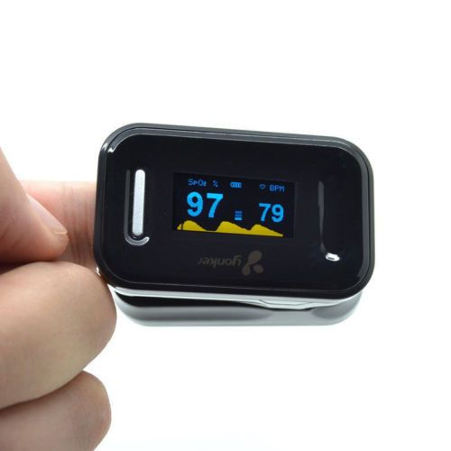 Sale! OLED Fingertip Pulse Oximeter Spo2 Blood Oxygen Monitor pulsoximeter