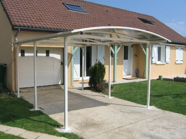 25 best images about aluminium port on pinterest for Abri mural gazebo