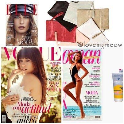 Love my meow: Revistas de agosto 2014