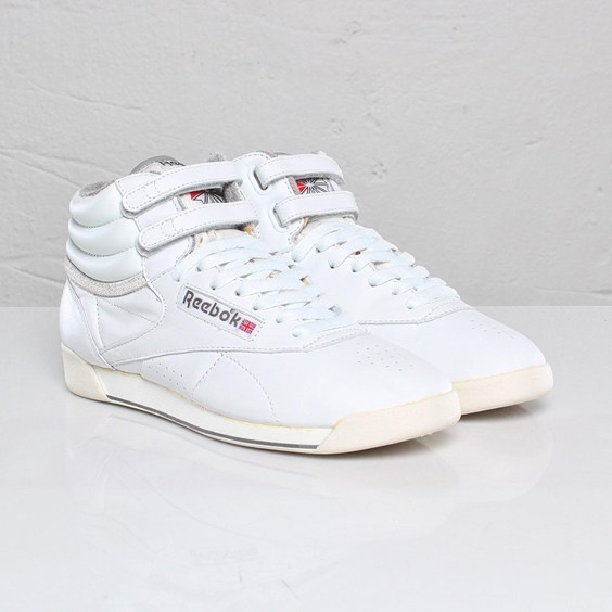 REEBOK High Tops.  I had these in light pink and light yellow!