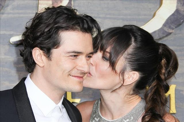 Orlando Bloom & Evangeline Lilly @ The Hobbit: The Desolation of Smaug Premiere