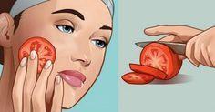 Ela passou tomate no rosto - e o resultado foi simplesmente incrível! | Cura pela Natureza