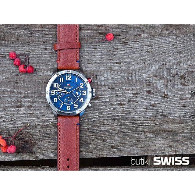 #Spacer z zegarkiem Tommy Hilfiger Trent. #klasa #elegancja #styl #zegarek #tommyhilfiger #trent #menswatch #watch