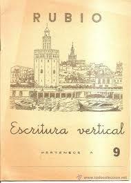 Portadas de Cuadernos Rubio antiguos