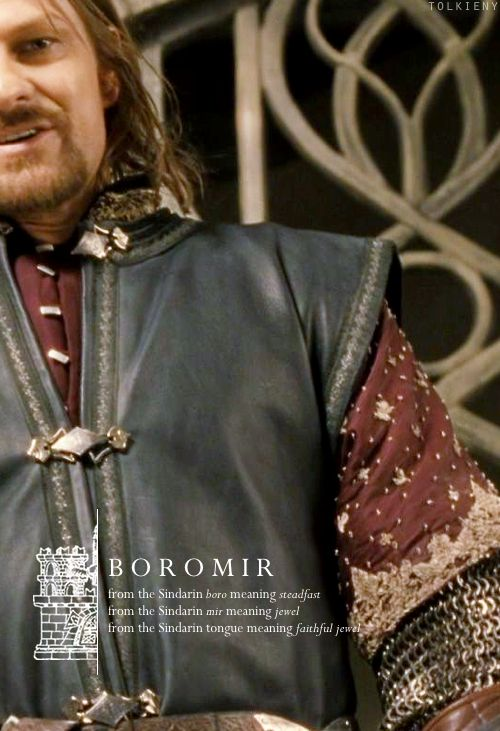 tolkieny:  the meaning of boromir  for ali