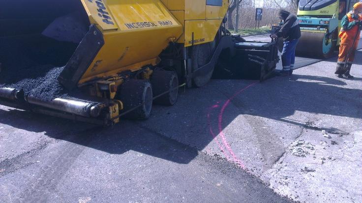 Pierwszy asfalt