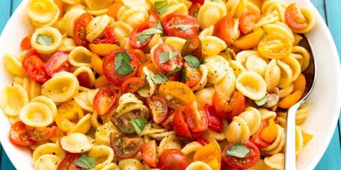 Best Bruschetta Pasta Salad Recipe - How To Make Bruschetta Pasta Salad