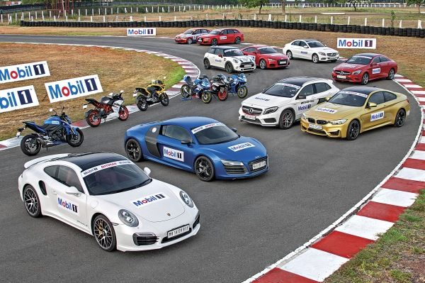 We have the nine best driver's cars in India, India's best driver, and the Chennai track all to ourselves.