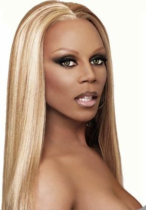 rupaul...it is a shame for a man to be this pretty smh but i love watching RuPauls drag race