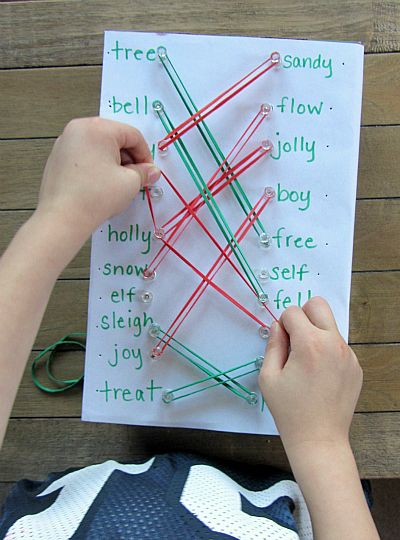 This is a great activity to teach rhyming words!