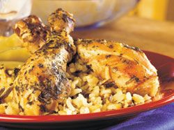 Creamy Chicken and Rice - A perfect #dinner option! #Slowcooker #Recipe