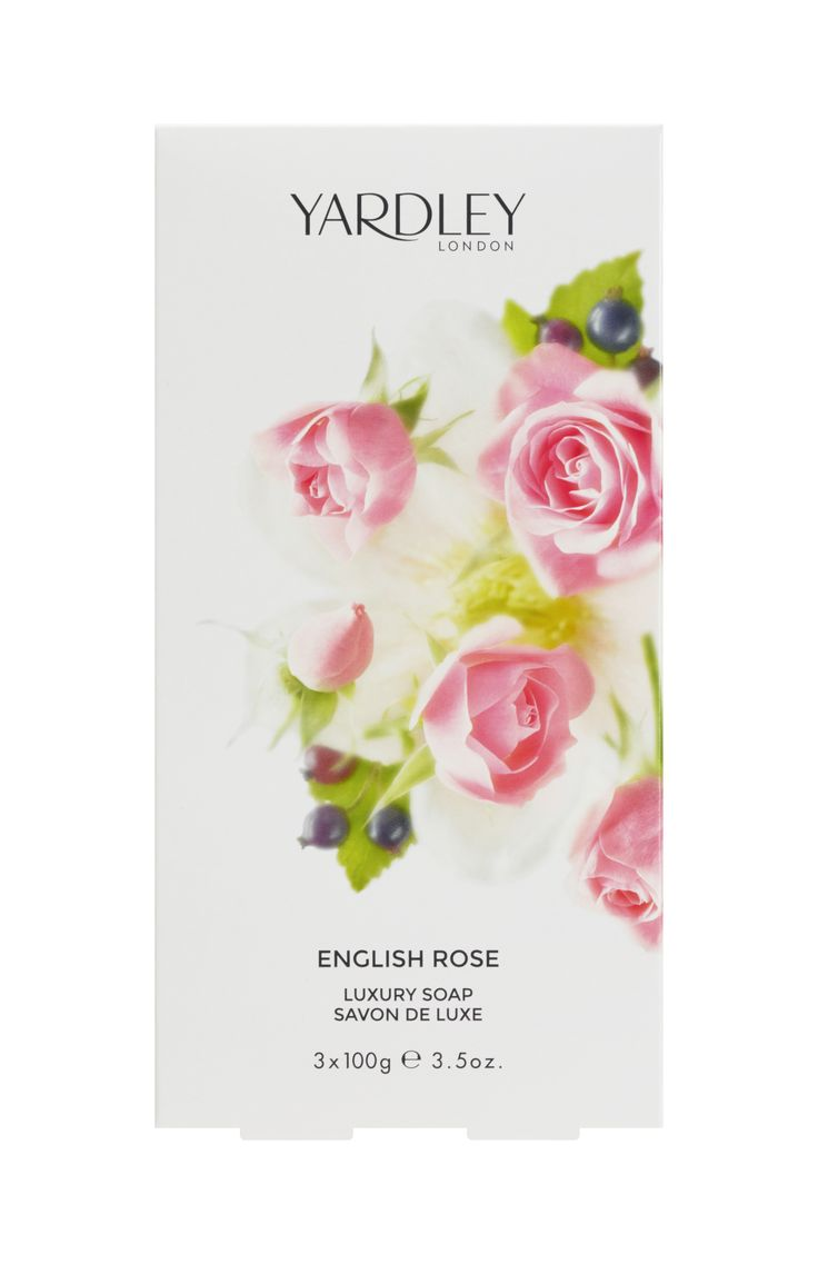 3 Σαπούνια, 100gr το ένα, English Rose Yardley