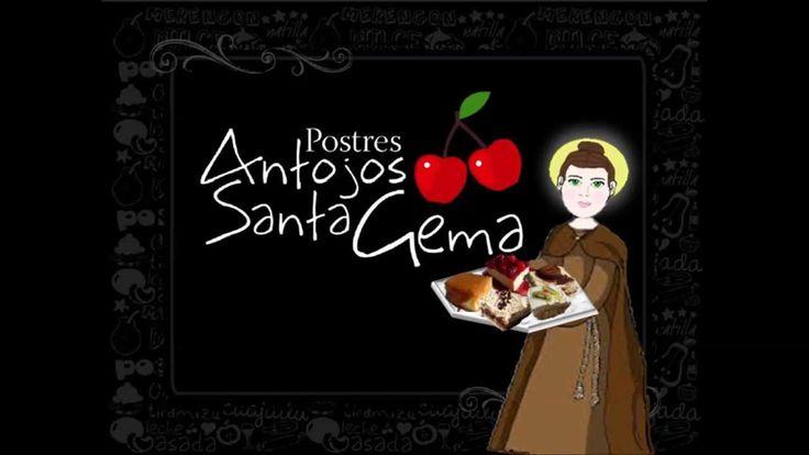 Clip realizado para la pagina web de POSTRES ANTOJOS SANTA GEMA. Pagina de bienvenida.
