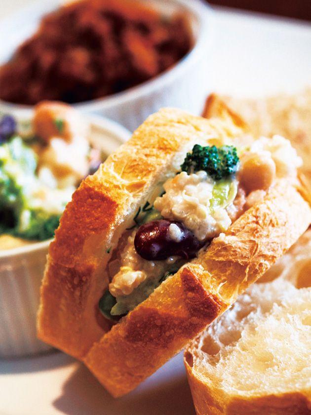 Tokyo Sandwiches : 【TOTAL FOODS/トータル・フーズ】大豆を使ったソイマヨネーズと キヌアのヘルシーコンボ