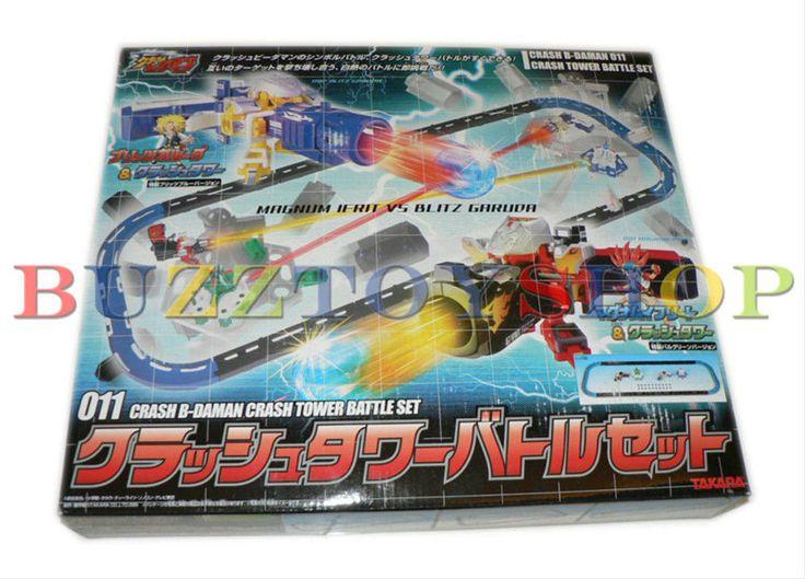 Takara Crash Battle B-Daman 011 Crash Tower Battle Set Japan Cartoon New tomy #Takara