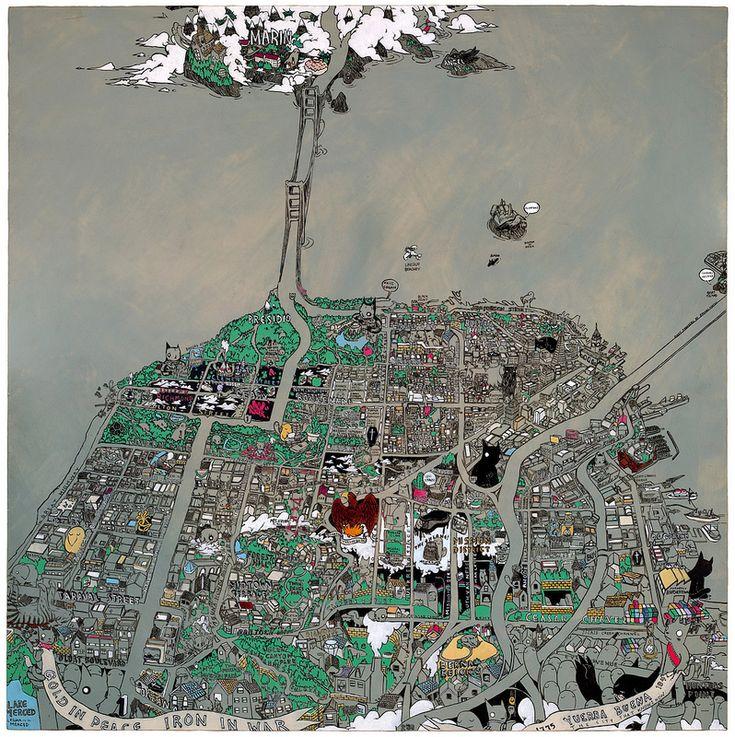 Secret Histories Map of San Francisco 146