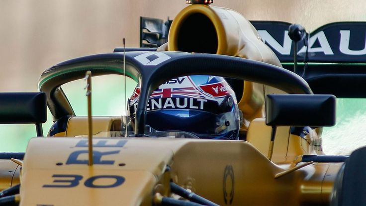 "Jolyon Palmer discusses Formula 1's new 'halo' cockpit protection    Jolyon Palmer says the integration of the halo cockpit protection system ""is a step too far"" for Formula 1.   http://www.bbc.co.uk/sport/formula1/43164151"