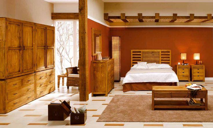 Dormitorios rusticos inspiraci n de dise o de interiores for Decoracion casa minimalista