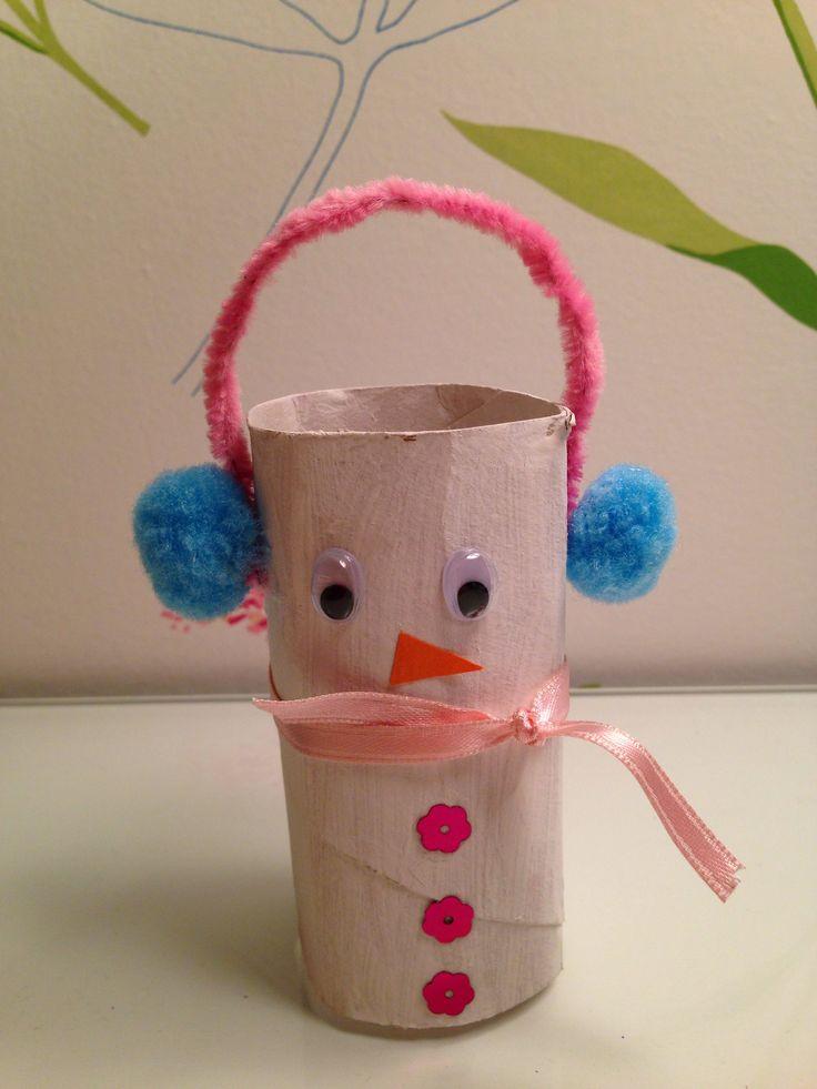 Mu 241 Eco De Nieve Con Rollo De Papel Higienico