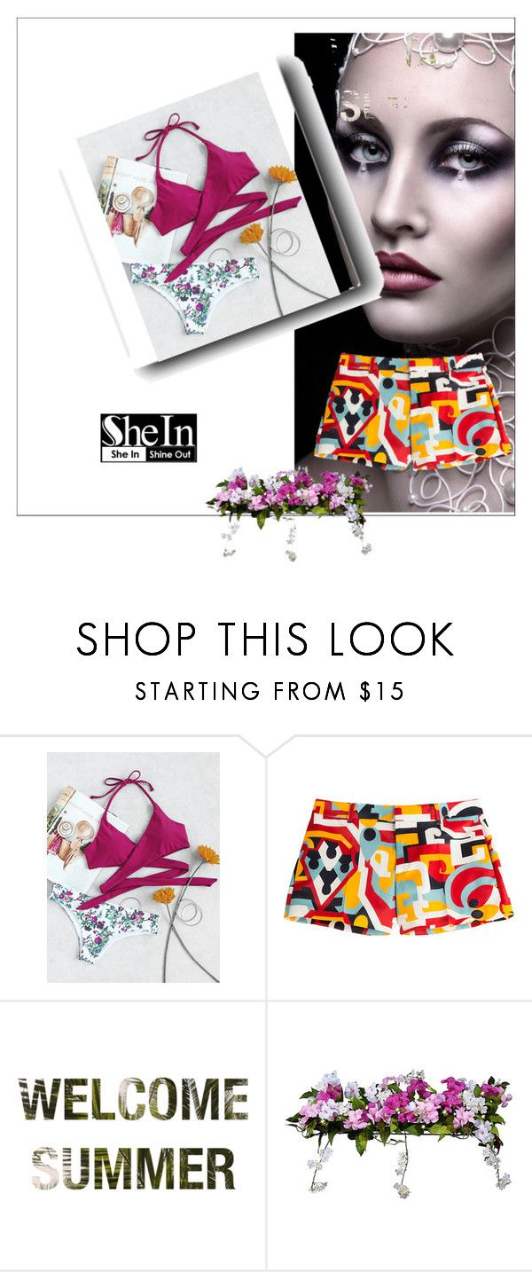 """SHEIN CONTEST"" by adap-i ❤ liked on Polyvore featuring Dsquared2 and Improvements"