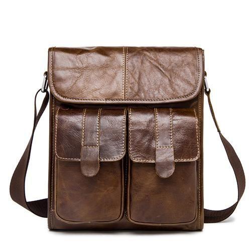MARRANT Genuine Leather Men Bags Fashion Male Messenger Bag Men's Small Briefcase Man Casual Crossbody Bags Shoulder Handbag 366