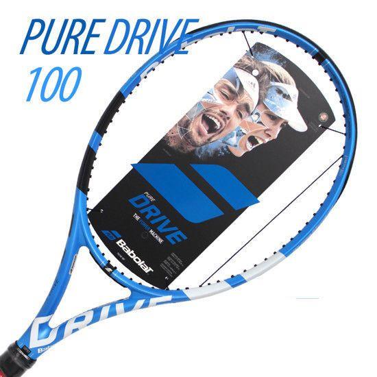 Babolat 2018 Pure Drive 100 Tennis Racquet Racket Sports CV