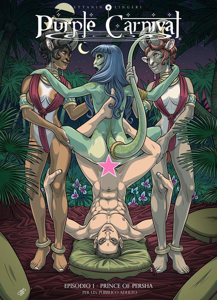 Purple Carnival - Web Episode 1 - Cover (Censored)  2014 - Copyright by Enrico Bettanin