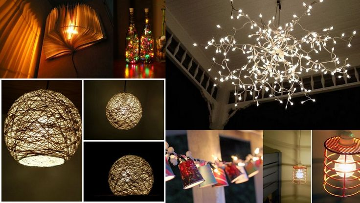 You don't have to limit your home's lighting to simple wall lamps, bulbs and tube lights.