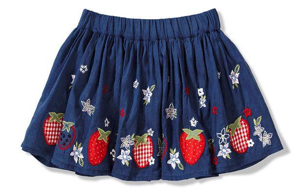 Cute little strawberry skirt from Sainsburys.