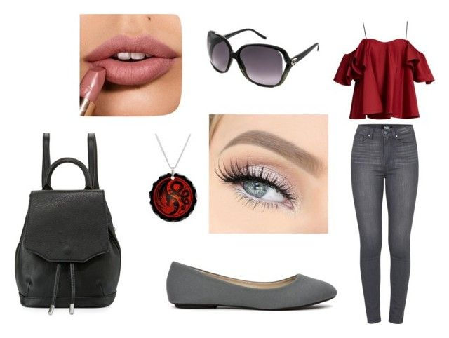 Casual by jill-nicole-1 on Polyvore featuring Anna October, Paige Denim, rag & bone and Gucci