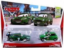 Disney / Pixar CARS Movie 1:55 Die Cast Car 2-Pack Nigel Gearsley & Austin Littleton [WGP 4/17]